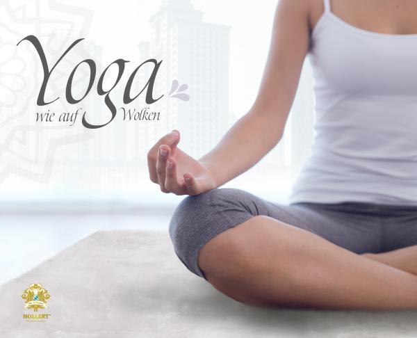 Yogamatte aus Lammfell weiß Kurzhaar versch. Größen