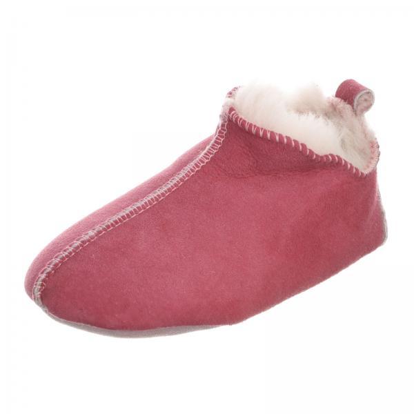 Lammfell Kinder Hausschuhe - BALI Pink