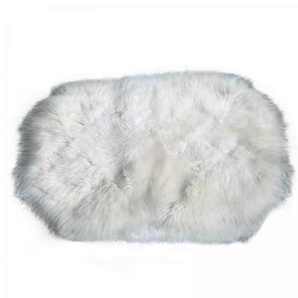 Lammfell Teppich Modell 3 Weiß