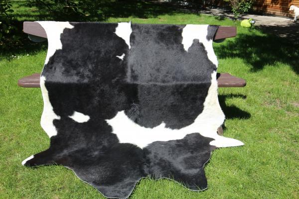 Kuhfell Nr. 12 Schwarz/Weiß