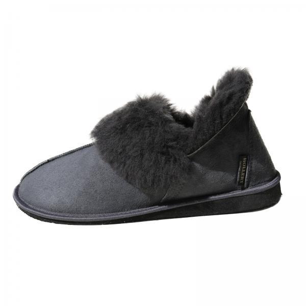 Sheepskin Slippers - CANADA GRAY