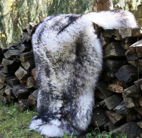 Sheepskin - Mottled / flamed color