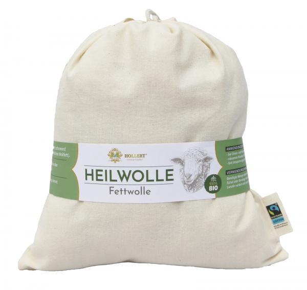 Bio Heilwolle Fettwolle 100g