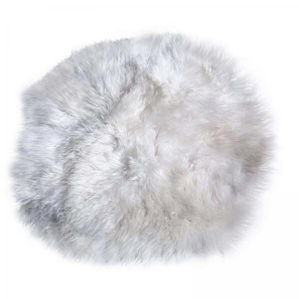 Lammfell Teppich Modell 1 Weiß