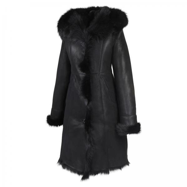 Sheepskin coat - JANINE BLACK