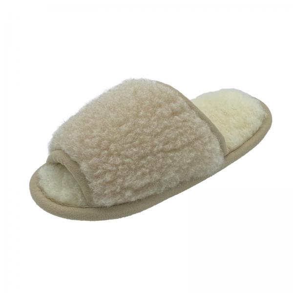 Sheep wool slippers - BECKY
