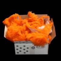 Lammfell - BASTELFELLE 1,5 kg Orange
