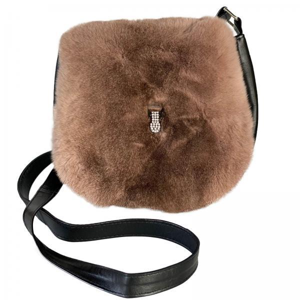 Leder Handtasche Modell 34