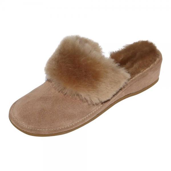der-Fellmann Encaje Damen Pantoffeln beige Lammfellschuhe Schuhgröße EUR 42 WqQVB6zZc