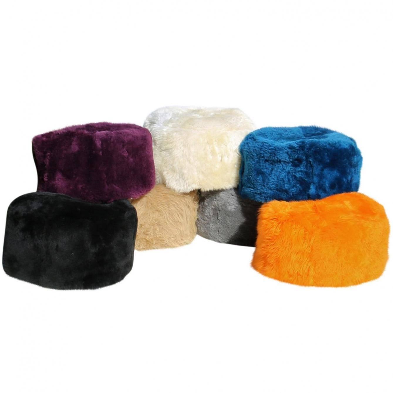 lammfell pouf sitzhocker mittel sitzkissen bodenkissen. Black Bedroom Furniture Sets. Home Design Ideas
