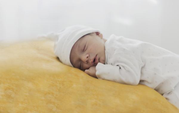 Babyfell waschbar ökologische Gerbung 90-100 cm
