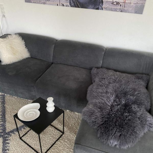 Australian merino lambskin Grey