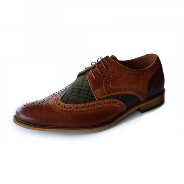 Exclusive leather shoes GAMBINO Model 507