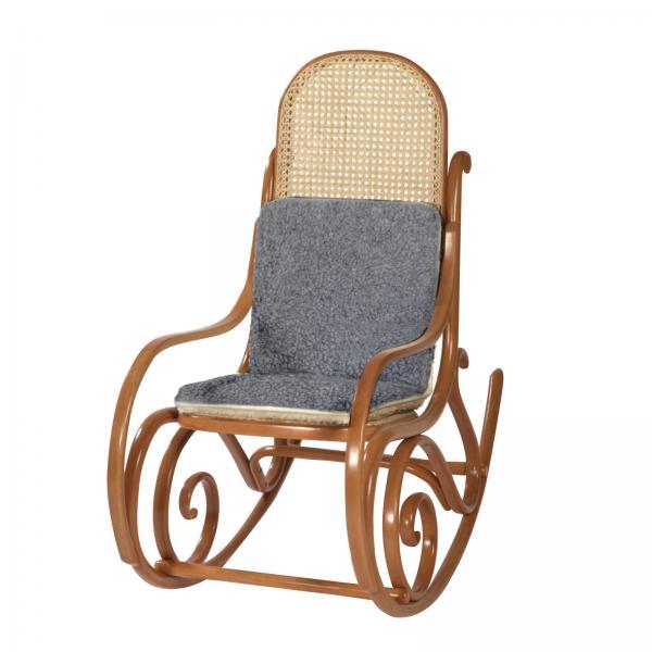 Sitzpolster aus Wolle 40x80