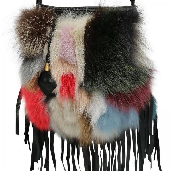 Leder Handtasche Modell 23