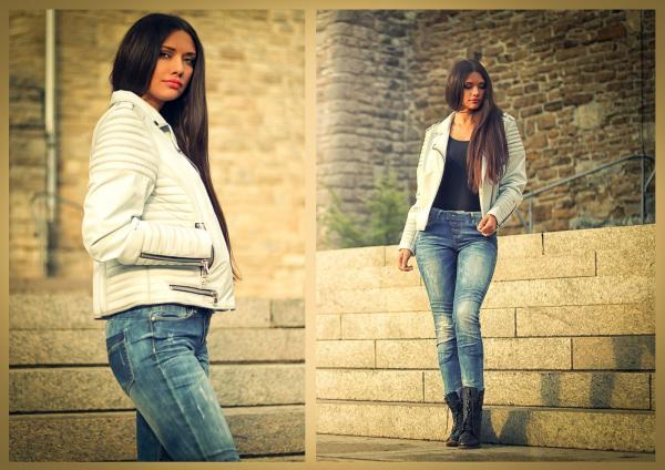 Leather Jacket - GRAZA