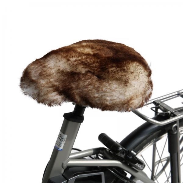 Bicycle seat cover Stracciatella