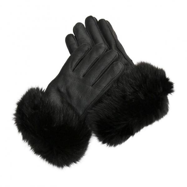Lammfell Fingerhandschuhe - FUCHS LADY