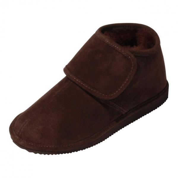 der-Fellmann Lammfell Hausschue Pantoffeln Malibu braun/weiß Schuhgröße EUR 37 kq67Ur