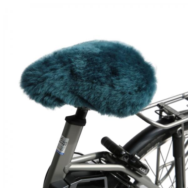 Bicycle seat cover Turquoise