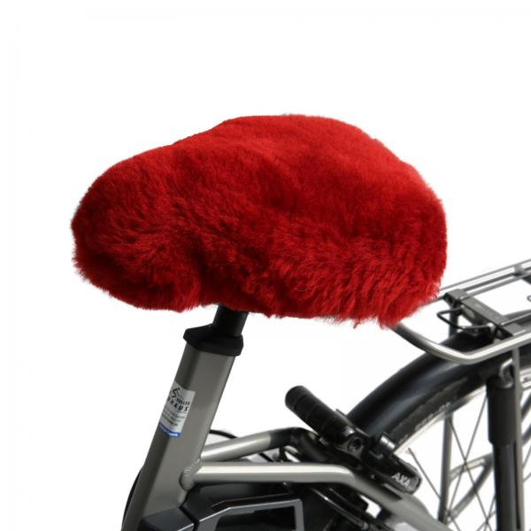 Bicycle seat cover Red