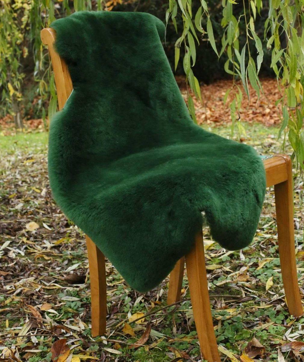 premium merino schaffell lammfell gr n gef rbt waschbar. Black Bedroom Furniture Sets. Home Design Ideas